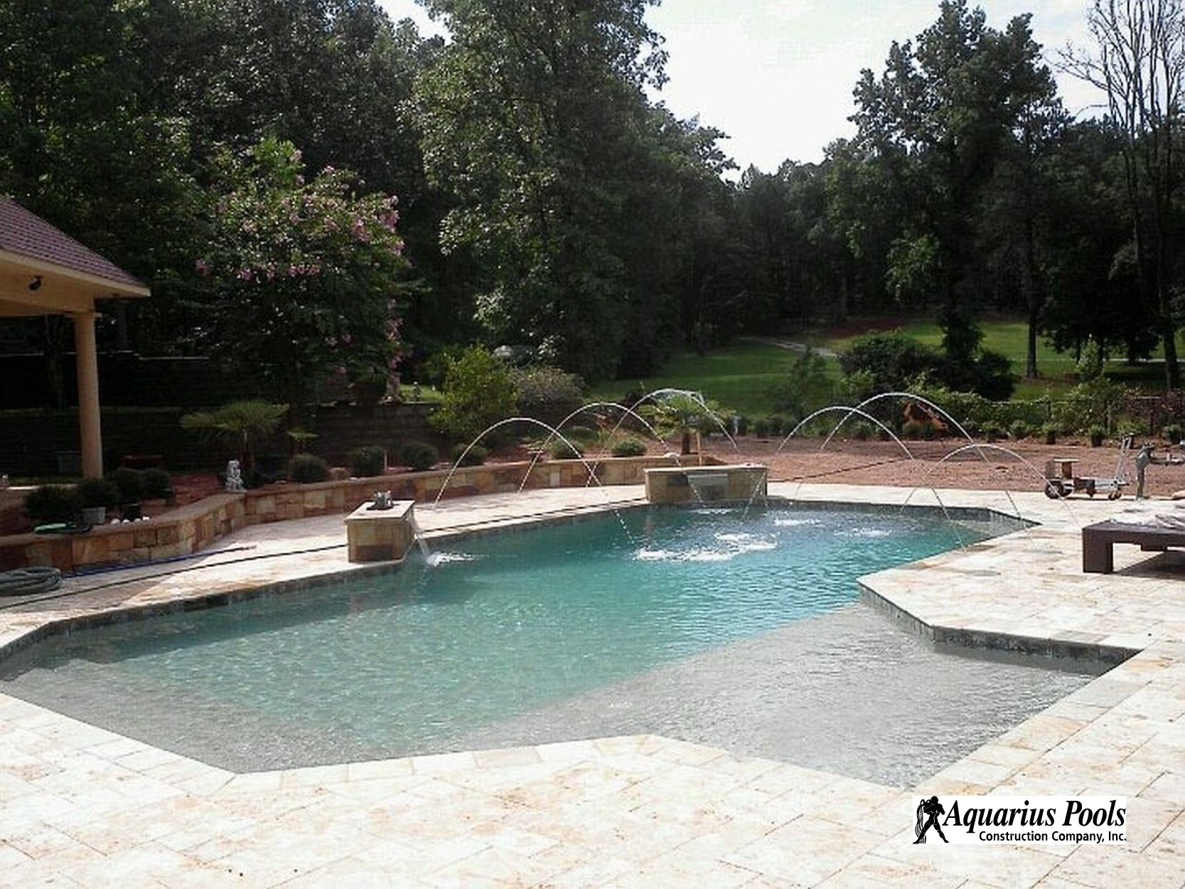 ... Shotcrete Pool #015 By Aquarius Pools Construction ...