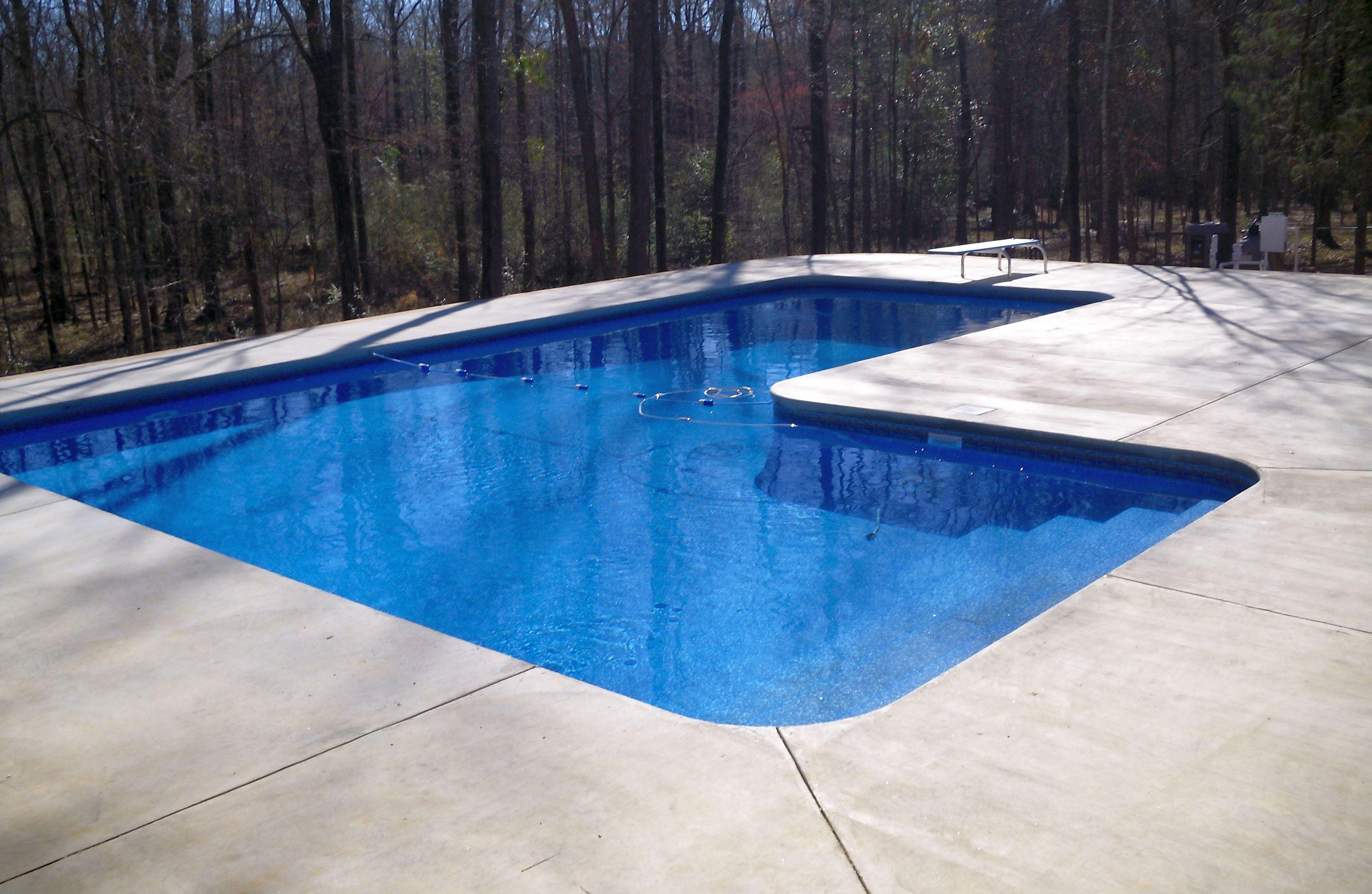 Vinyl Liner Pool 007 By Aquarius Pools Construction