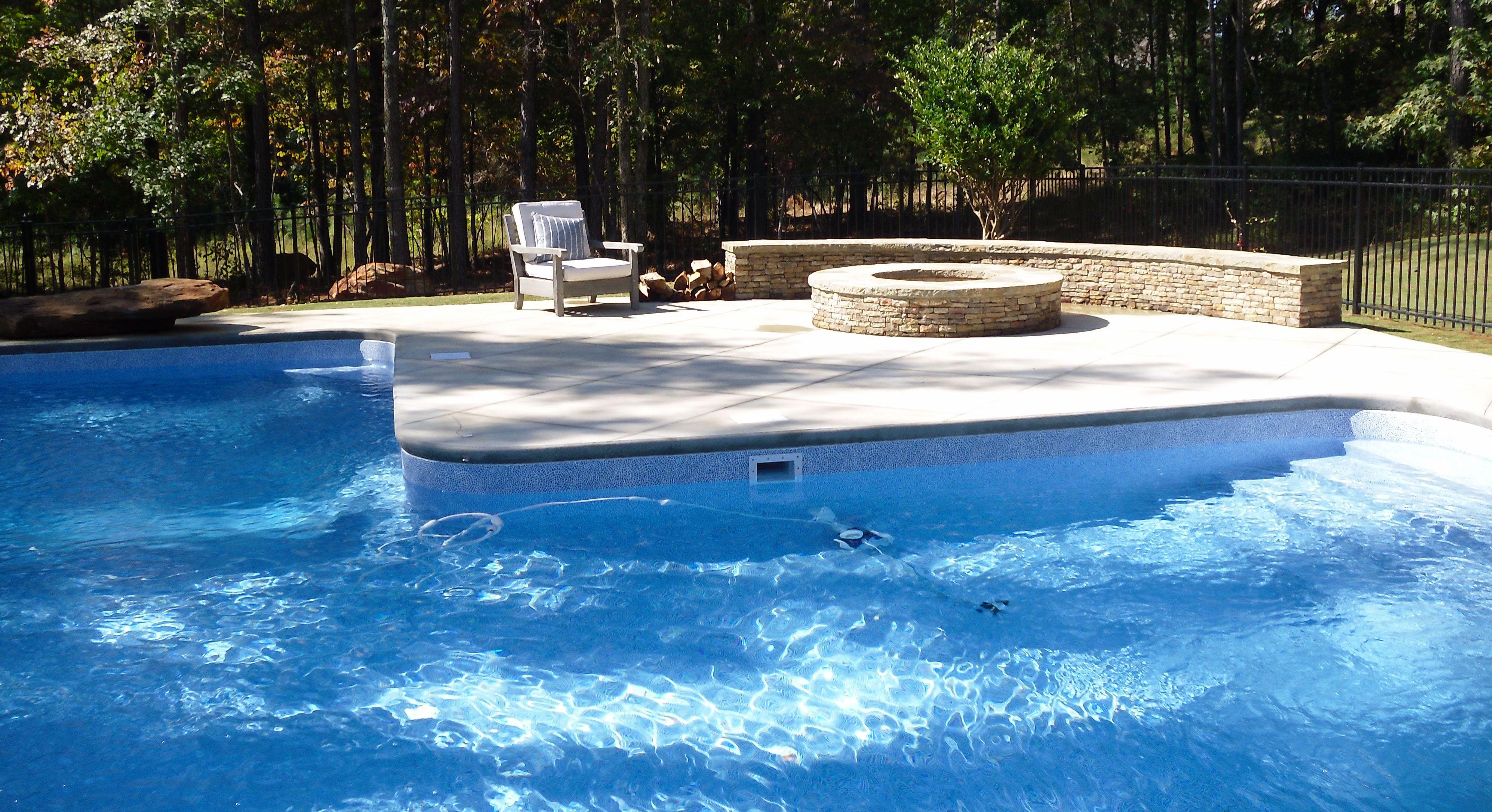 Vinyl Liner Pool 014 By Aquarius Pools Construction
